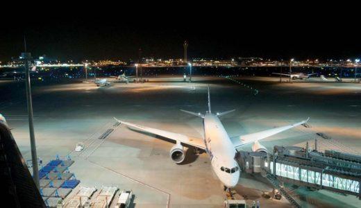羽田空港で深夜早朝便を運航している国内線の航空会社6選
