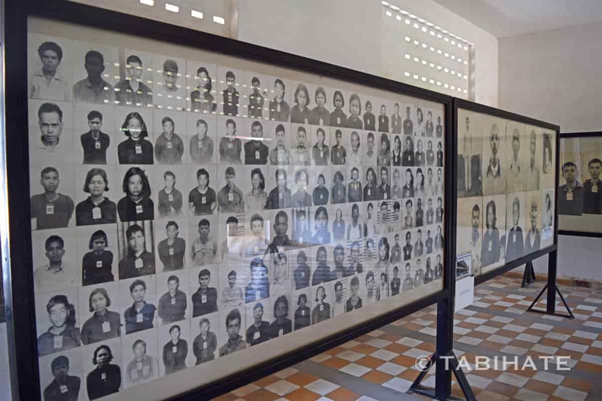 トゥール・スレン強制収容所で犠牲となった人たち