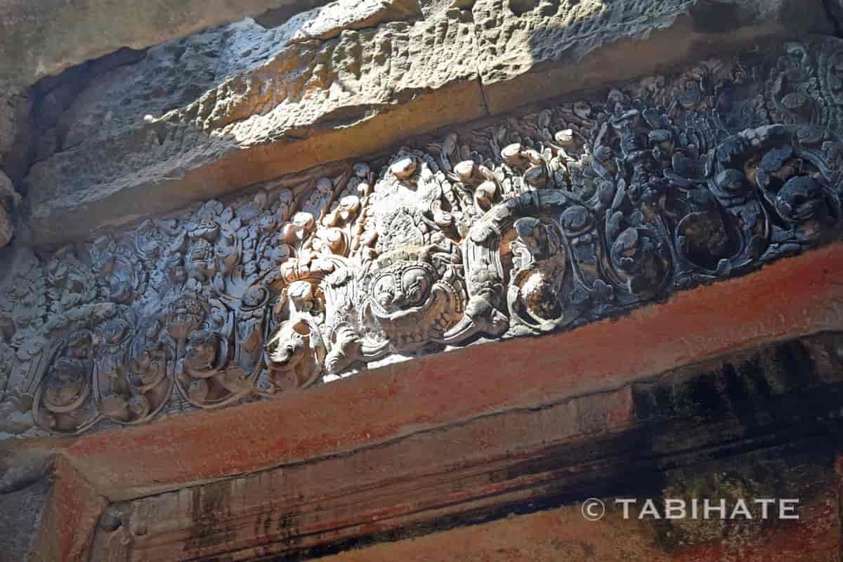 バイヨン寺院で見つけたカーラ