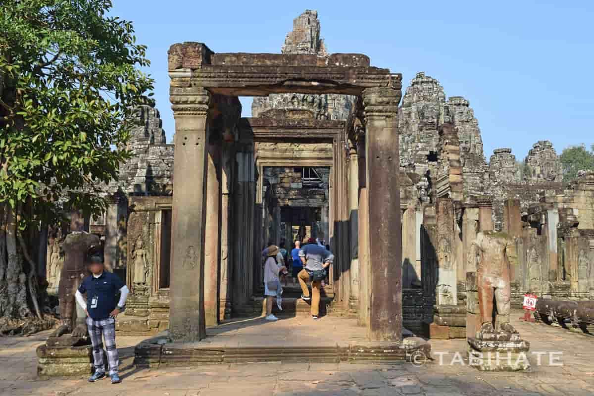 バイヨン寺院の東門