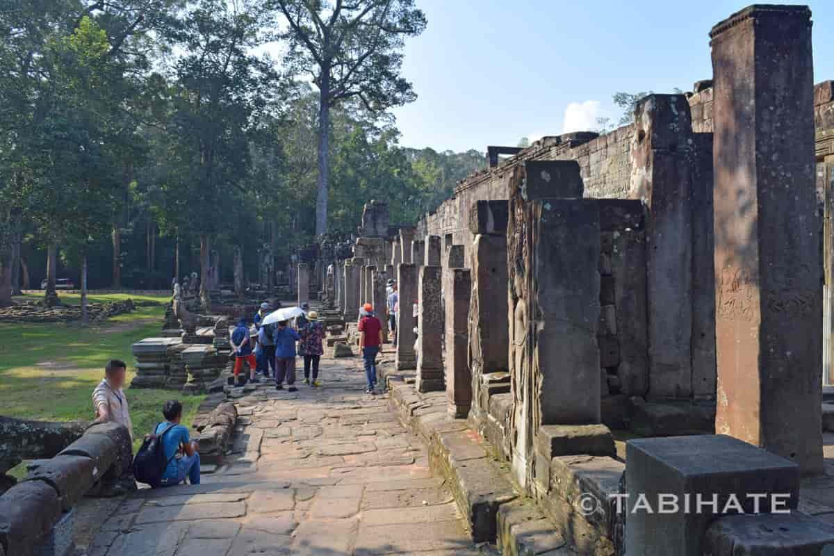 バイヨン寺院の第一回廊